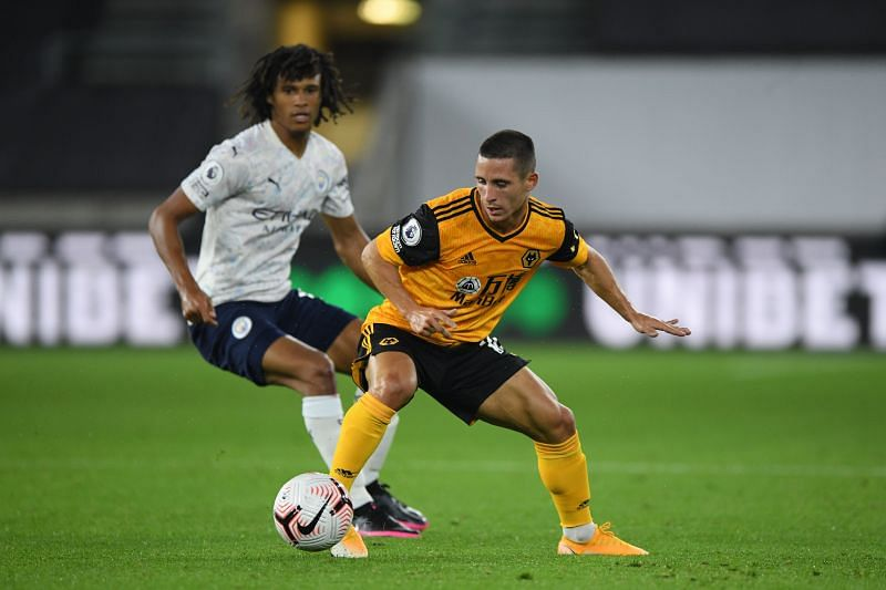 Nathan Ake was afforded protection from the midfield on his City debut