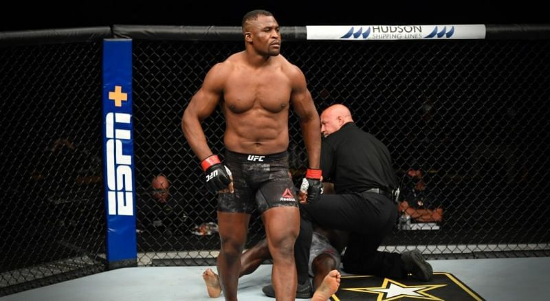 Francis Ngannou looks to improve striking; working with boxing legend