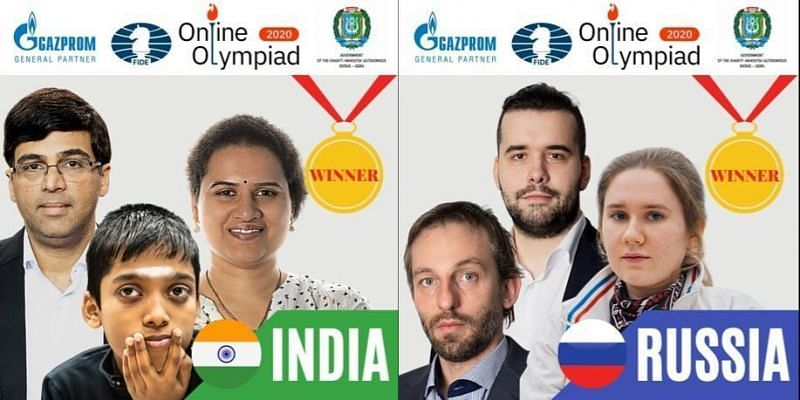 GM Srinath Narayanan served as the vice-captain of the Indian team at the 1st Online Olympiad by FIDE (Image Credits: FIDE Twitter)