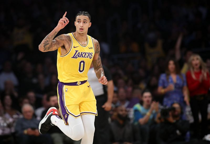 Kuzma was in the 2017-18 All-Rookie team