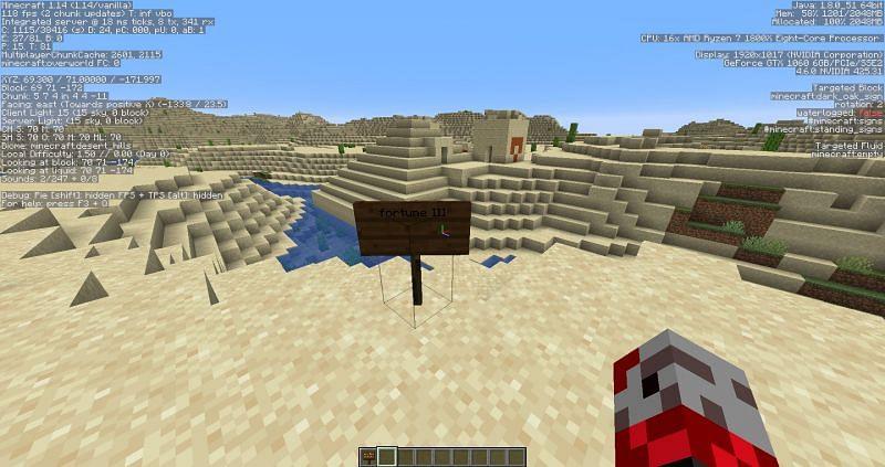 Fortune 3 (Image credits: Minecraft-seeds.com)