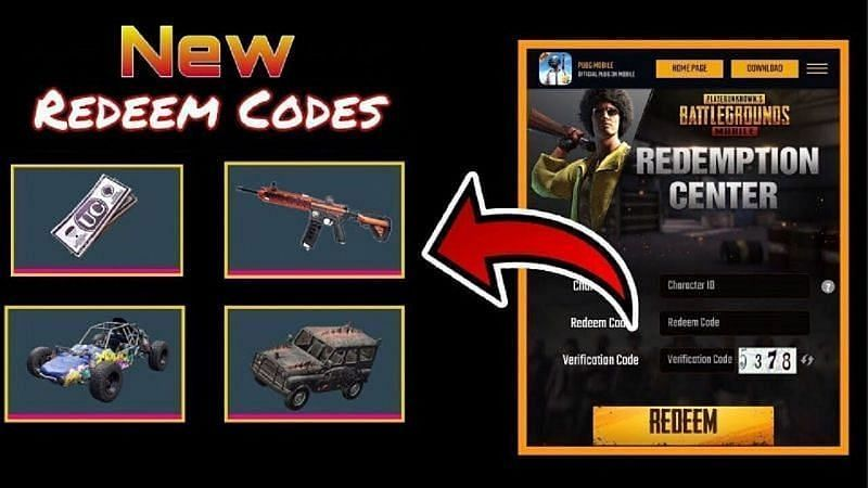 PUBG Mobile Redeem Codes for today (Image Credits: Shamsi Bhai/ YouTube)