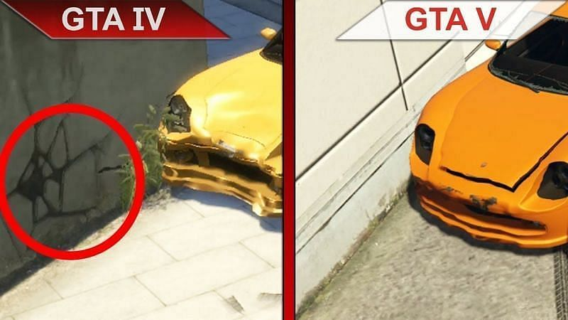 Damage comparison of cars (Image Credits: PlayGround, YouTube)