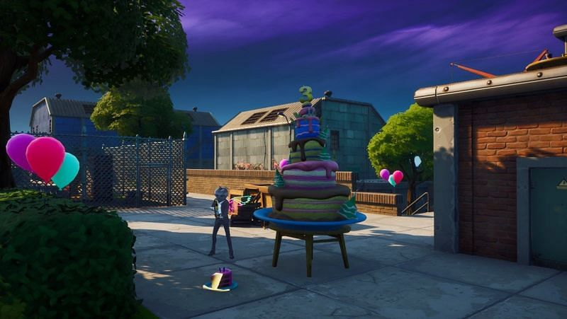 Fortnite Birthday Cake Locations The Fastest Way To Find All Birthday Cakes On The Map