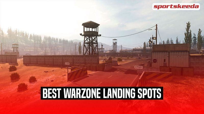 A look at some of the most useful landing sports in COD: Warzone