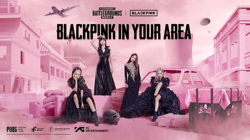 PUBG Mobile Blackpink in your area! PUBGMxBLACKPINK