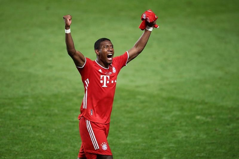 David Alaba might follow Thiago Alcantara and leave Bayern Munich next summer.