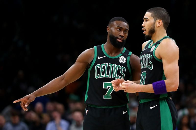 Brown and Tatum have developed into a solid young duo