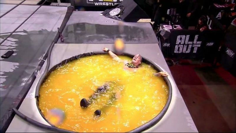 Jericho loves his Mimosas(Pic Source: AEW)