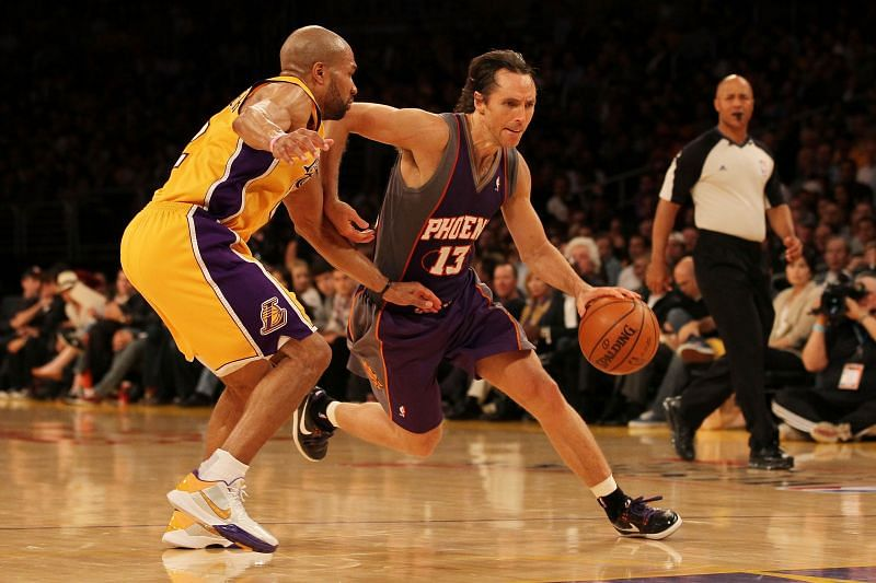 Steve Nash from his playing days