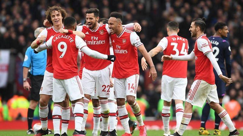 Arsenal are on a six-game winning streak