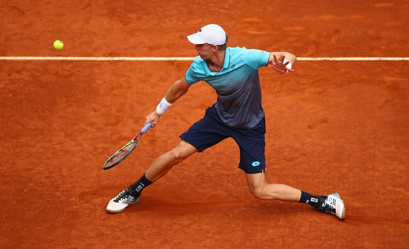 Kevin Andrerson at the 2018 Mutua Madrid Open
