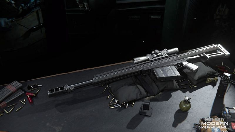 The Rytec AMR is the first and only sniper rifle to be added to COD Warzone since the initial release (Image Credit: Activision)