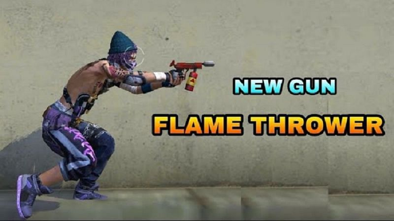 Flamethrower in Free Fire: Damage, stats, and other details (Image Credits: INSTA GAMER / YouTube)