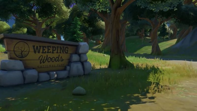Weeping Woods (Image Credit: Daily Esports)