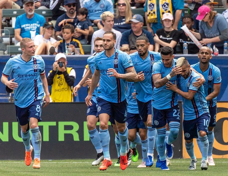 New York City FC are unbeaten in their last four MLS fixtures.