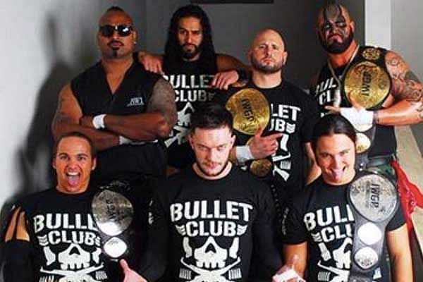 Finn Balor was the leader of the Bullet Club
