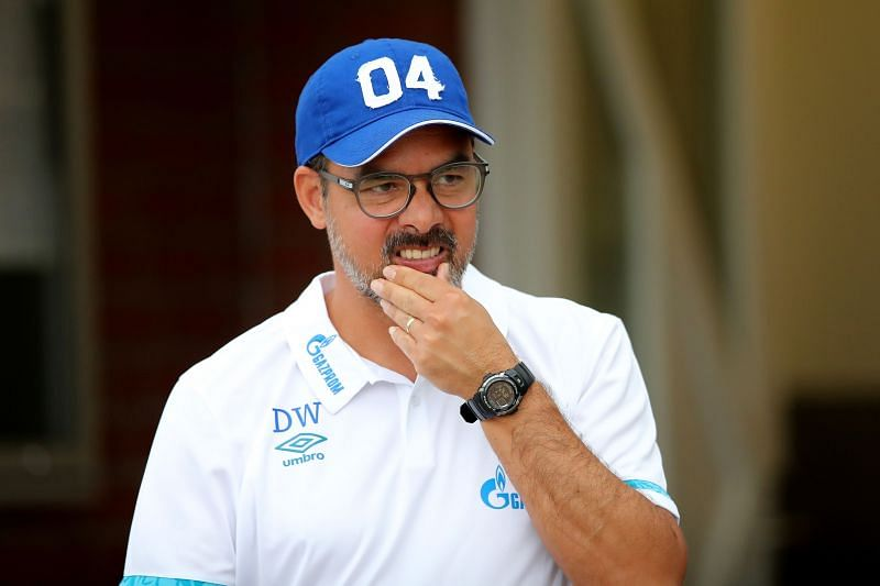 FC Schalke 04 manager David Wagner is already staring at the sack