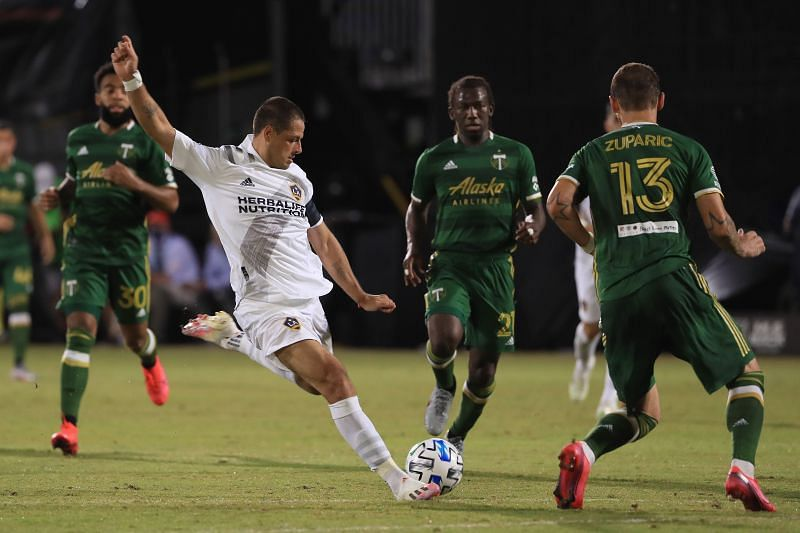 Javier Hernandez could be in line for an LA Galaxy start on Wednesday