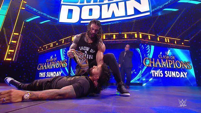 Clash of Champions से पहले हुए SmackDown के आखिरी एपिसोड में काफी कुछ देखने को मिला