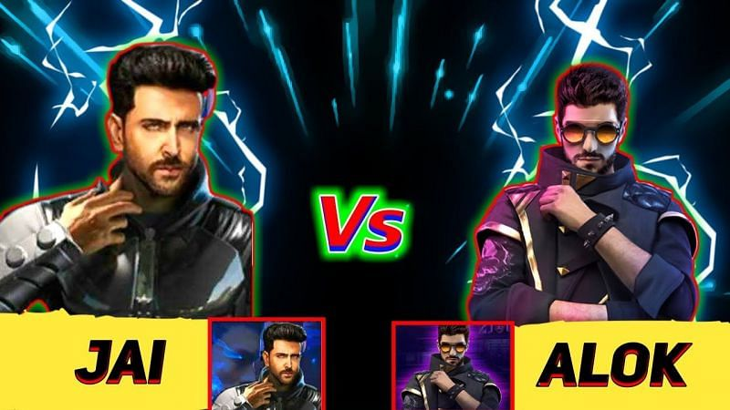 DJ Alok vs Jai in Free Fire: Comparing the abilities of both characters (Image Credits: Nishad Gamer / YouTube)