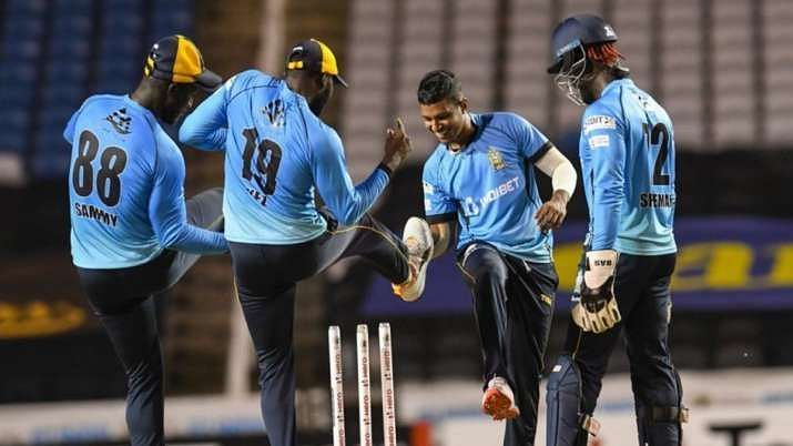 The Zouks ran riot with both bat and ball in their CPL semi-final match