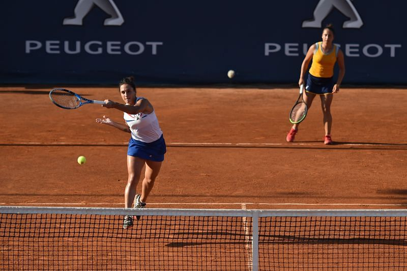 Martina Trevisan made it to the doubles final at Palermo last month