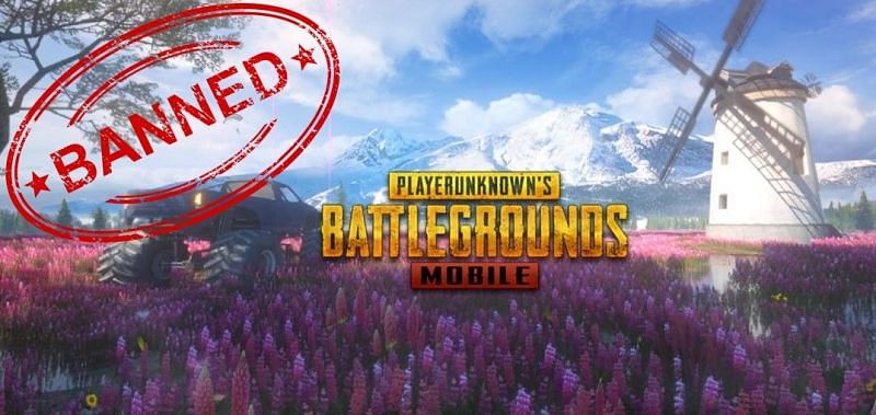 PUBG Mobile banned (Image Source: PUBG Mobile and onlygfx.com)