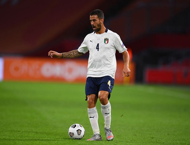 Spinazzola had an outstanding game at left-back for Italy