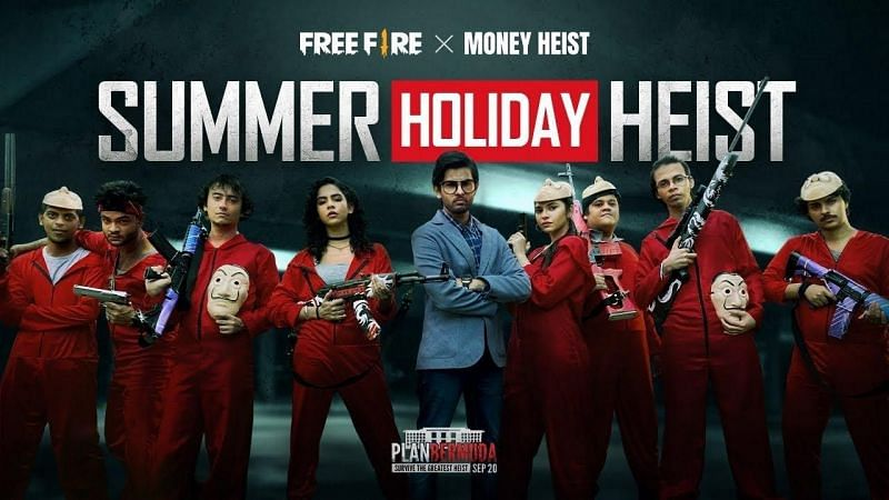 Free Fire x Money Heist