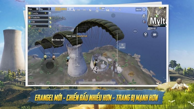 A look at the PUBG Mobile Vietnam version