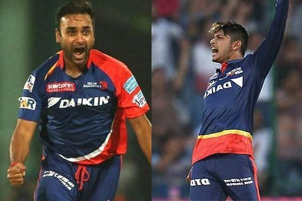 Amit Mishra and Sandeep Lamichhane would be the leg-spinner options in the Delhi Capitals lineup
