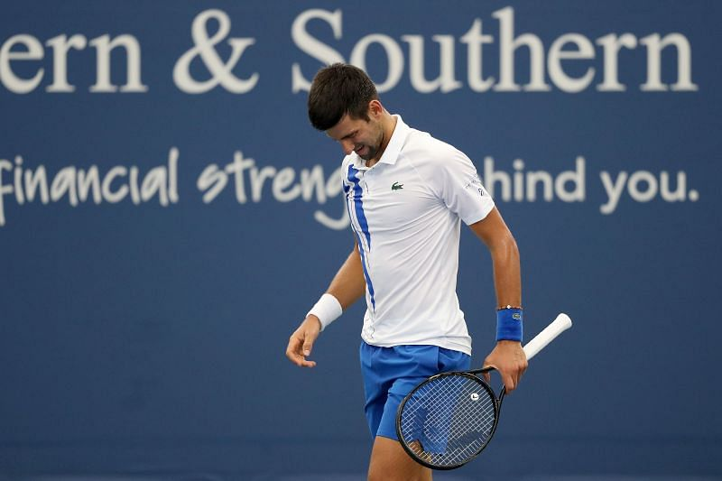 Novak Djokovic has had a tumultuous 2020