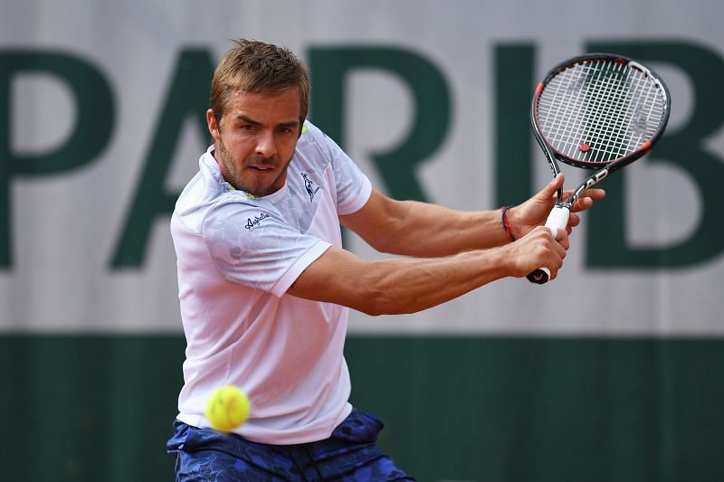 Andrej Martin scored his biggest result at a slam in Paris, reaching the third round in 2016.