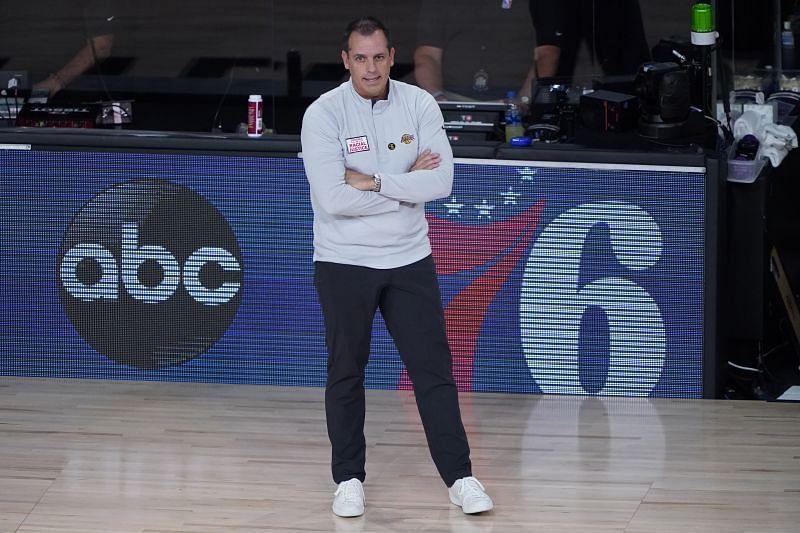 LA Lakers coach Frank Vogel