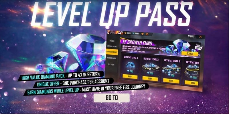 Level up pass in Free Fire: All you need to know