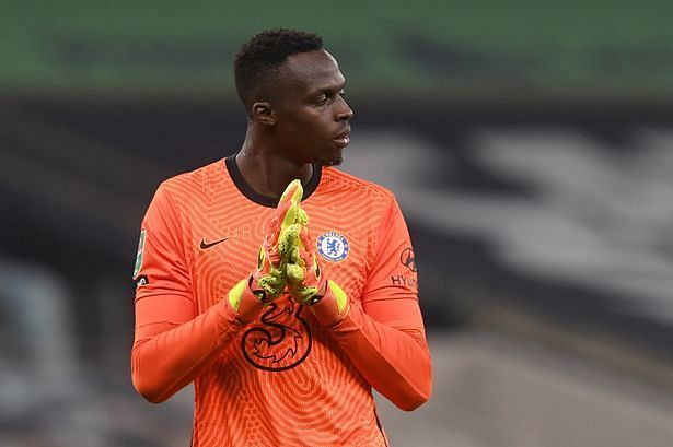 New Chelsea keeper Eduard Mendy