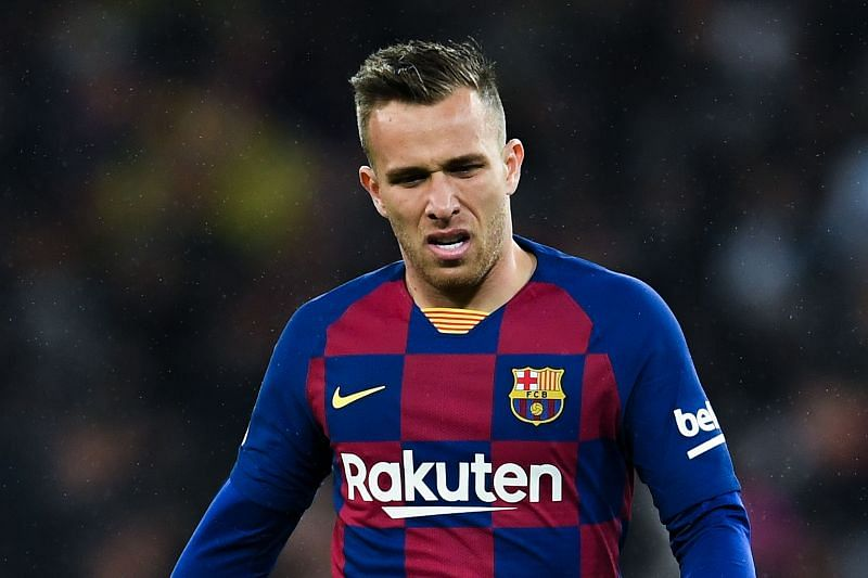 Arthur joined Juventus in a deal that saw Miralem Pjanic move to Barcelona