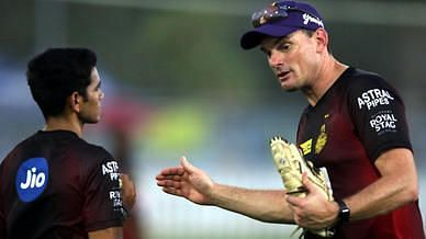 Kyle Mills said he would be advising KKR youngsters to embrace the challenge of bowling to Kohli (Image Credits: KKR)