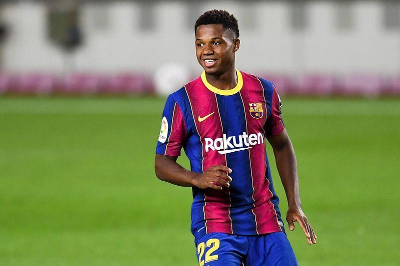 Ansu Fati of FC Barcelona