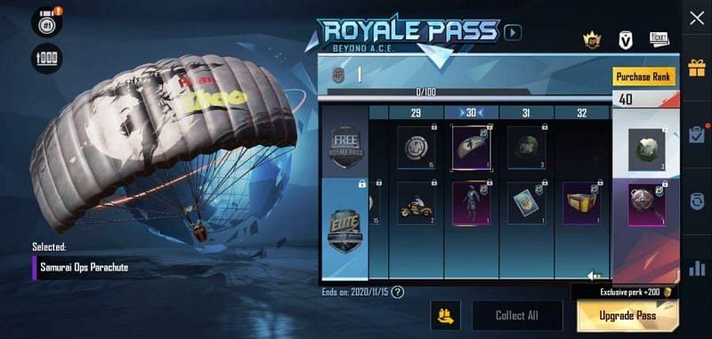RP 30 - Reward