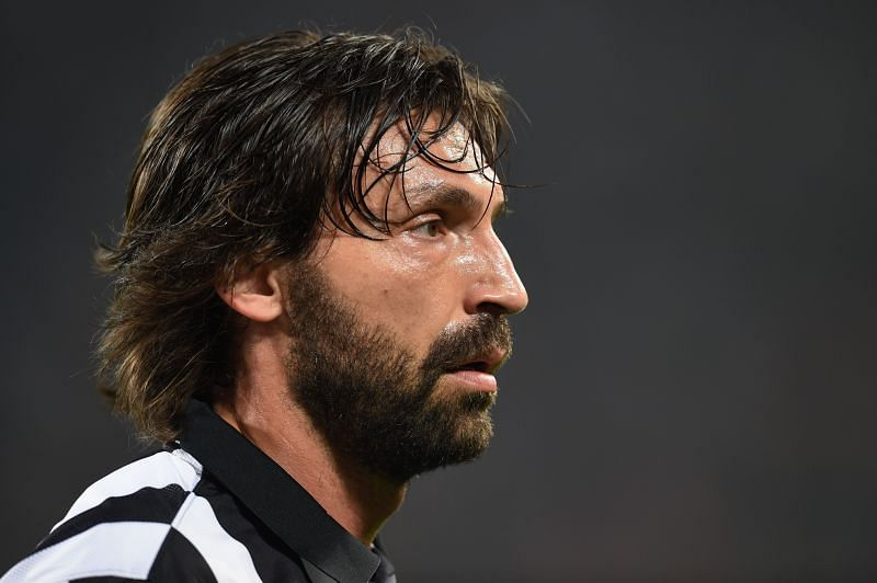 Juventus club legend and recently-appointed manager Andrea Pirlo