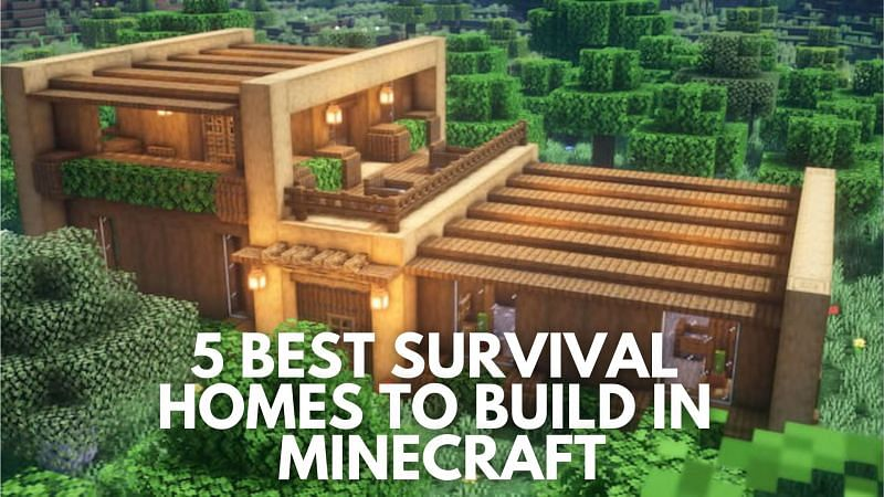 Some of the best survival homes to build in Minecraft