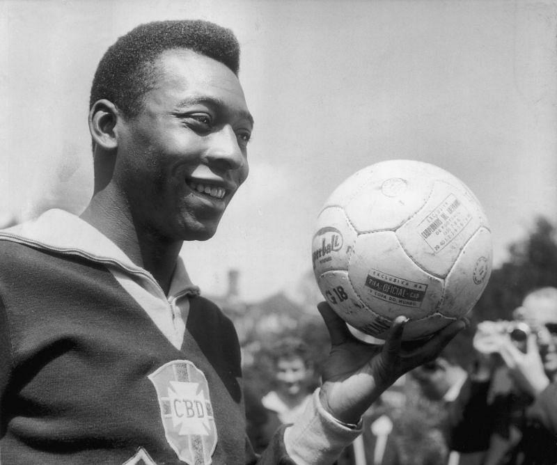 Brazilian football icon Pele