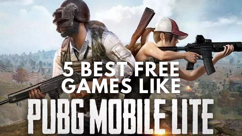 Five best free games like PUBG Mobile Lite