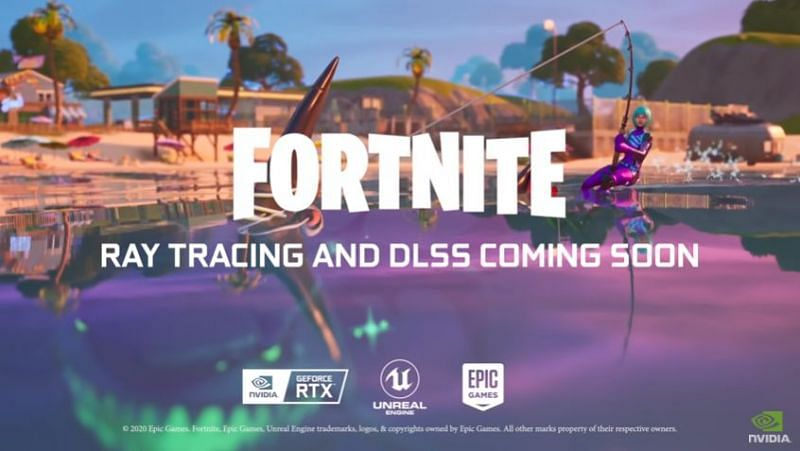 Fortnite now has Ray Tracing! (Image Credits: Nvidia GeForce, YouTube)