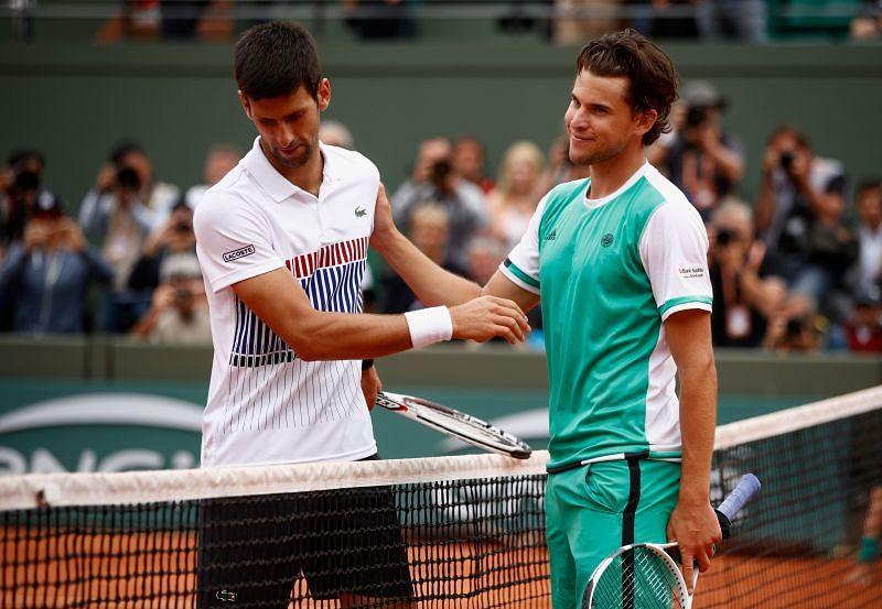 Dominic Thiem beat Novak Djokovic at the 2017 French Open