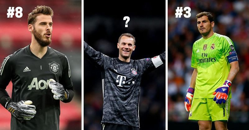 De Gea, Neuer, and Casillas have all been brilliant goalkeepers for both club and country