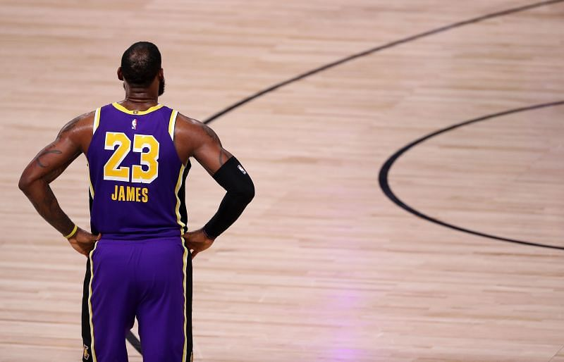 LeBron James is looking to win his first championship with the LA Lakers