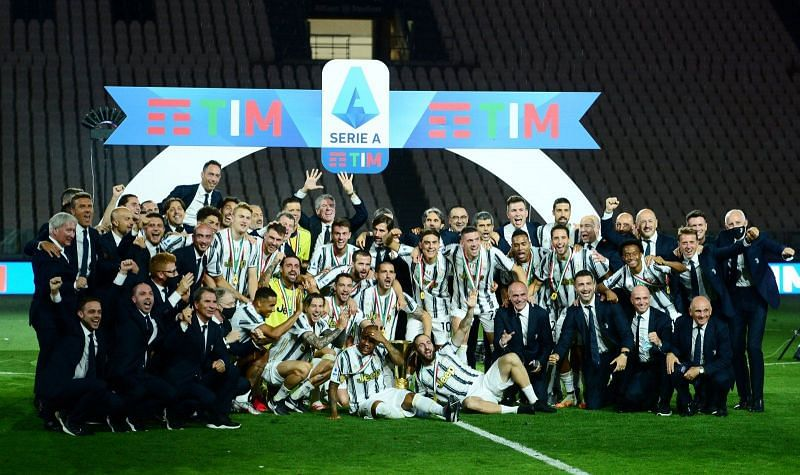 Juventus lifted their ninth consecutive Scudetto in 2019-20.